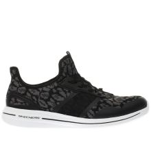 Skechers Black & Grey Burst 2.0 Game Changing Womens Trainers