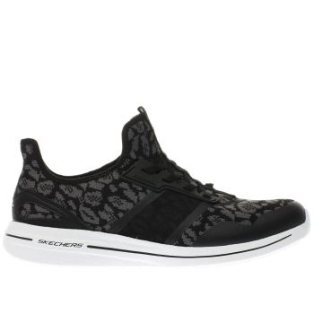 Skechers Black Burst 2.0 Game Changing Womens Trainers