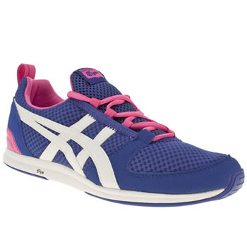 womens onitsuka tiger blue ult-racer trainers