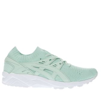 Asics Light Green Gel-kayano Trainer Knit Trainers
