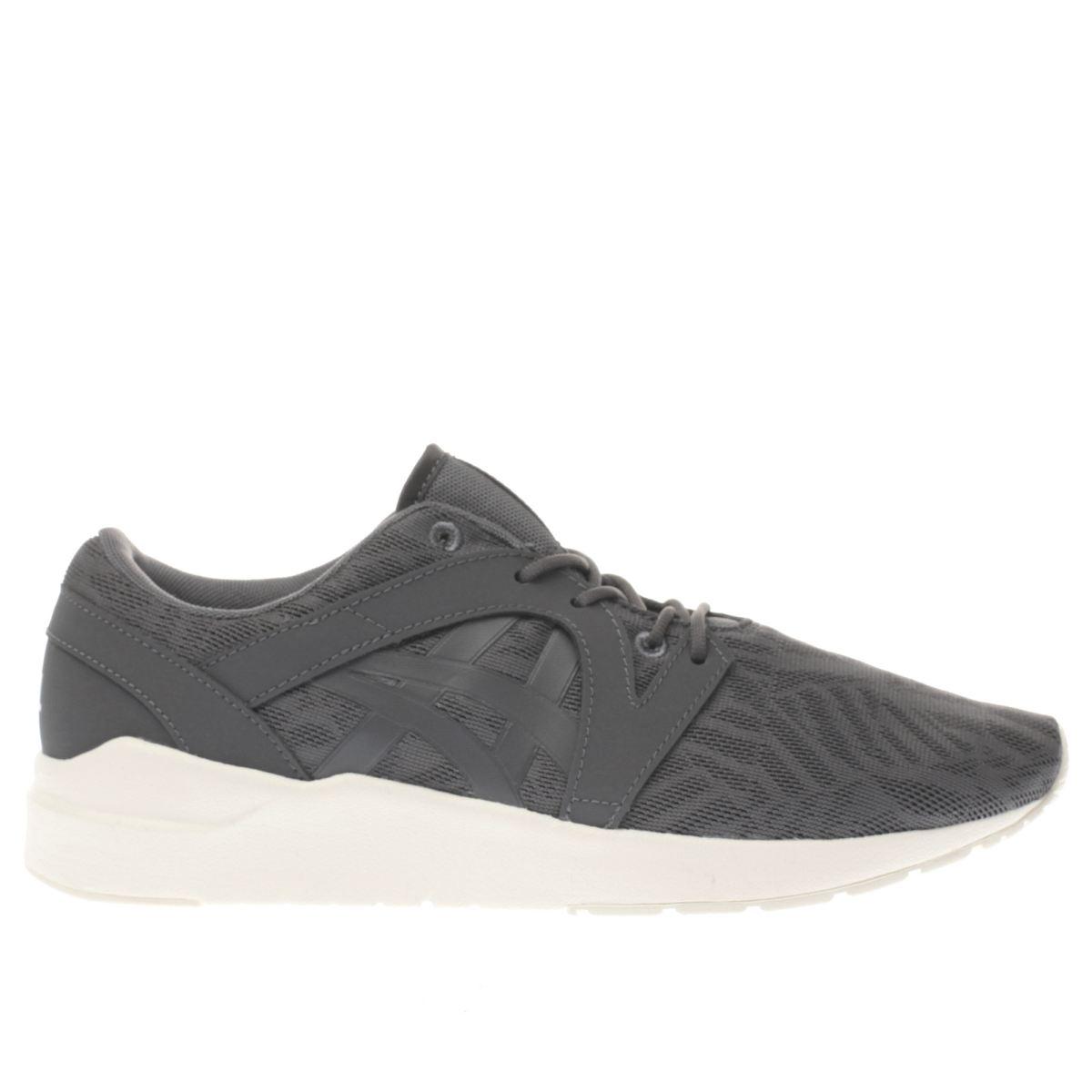 asics dark grey gel-lyte komachi trainers
