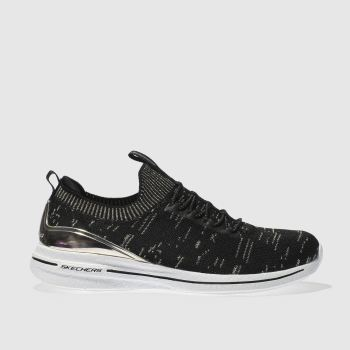 Skechers Black Burst 2.0 Womens Trainers
