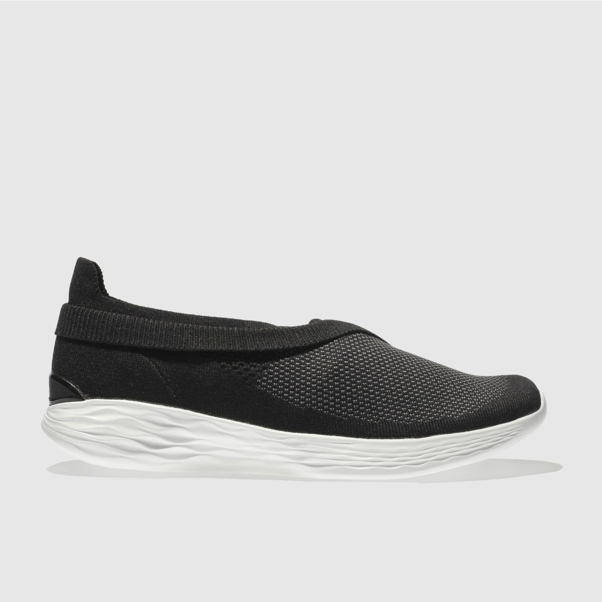 Skechers Black & White You Luxe Trainers