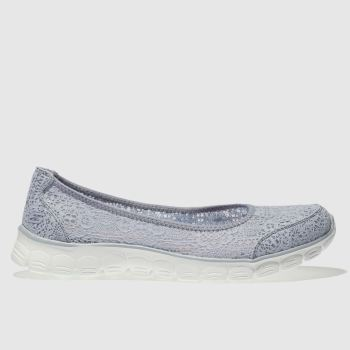 Skechers Blue Ez Flex 3.0 Beautify Womens Trainers
