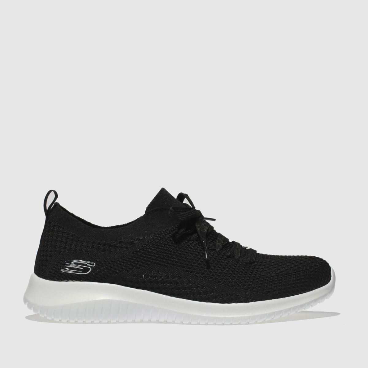 c730cfe48c27 Skechers Black   White Ultra Flex Statements Trainers