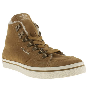 Womens Adidas Tan Honey Hook Trainers
