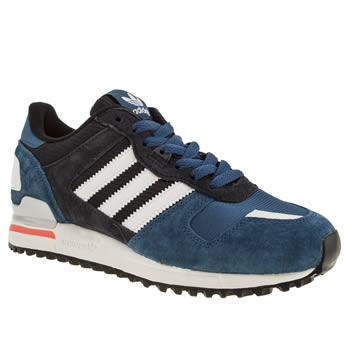 Womens Adidas Navy Zx 700 Trainers