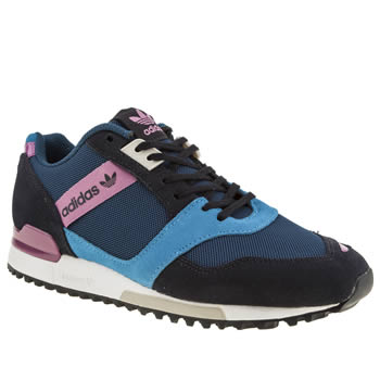 Womens Adidas Navy Zx 700 Contemp Trainers