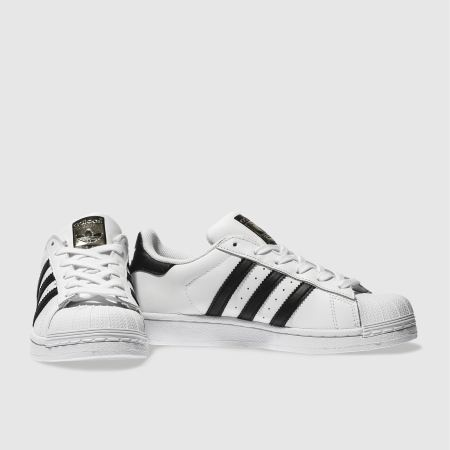 Adidas Superstar Black Foundation