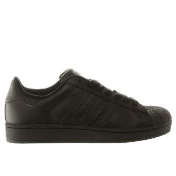 Womens Adidas Black Superstar 2 Trainers