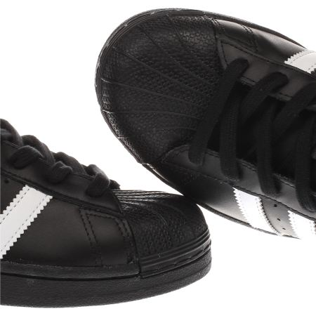 Adidas Superstar 2 Black And White