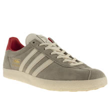 Light Grey Adidas Gazelle Og Iii