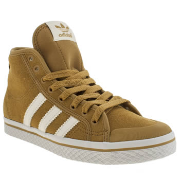 Adidas Tan Honey Mid Trainers