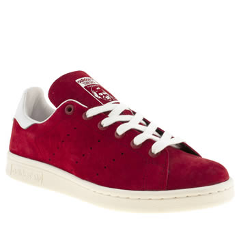Adidas Red Stan Smith Trainers