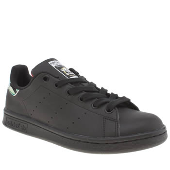 Womens Adidas Black Stan Smith Rita Ora Trainers