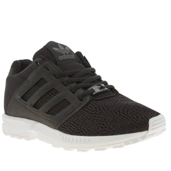 Adidas Black Zx Flux 2-0 Trainers