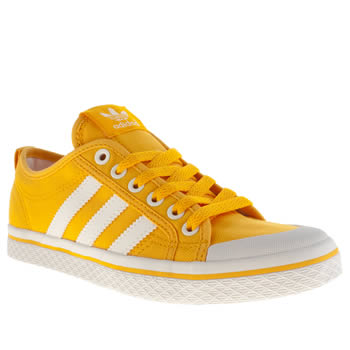 Adidas Yellow Honey Low Stripes Iv Trainers