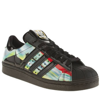 Adidas Black Superstar Rita Ora O-ray Trainers