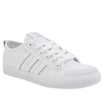Adidas White Honey Low Stripes Trainers