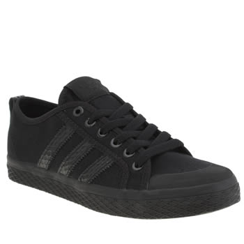 Adidas Black Honey Low Stripes Trainers
