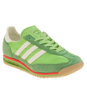 Womens Adidas Green Sl 72 Trainers