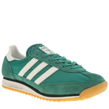 Adidas Dark Green Sl 72 Womens Trainers