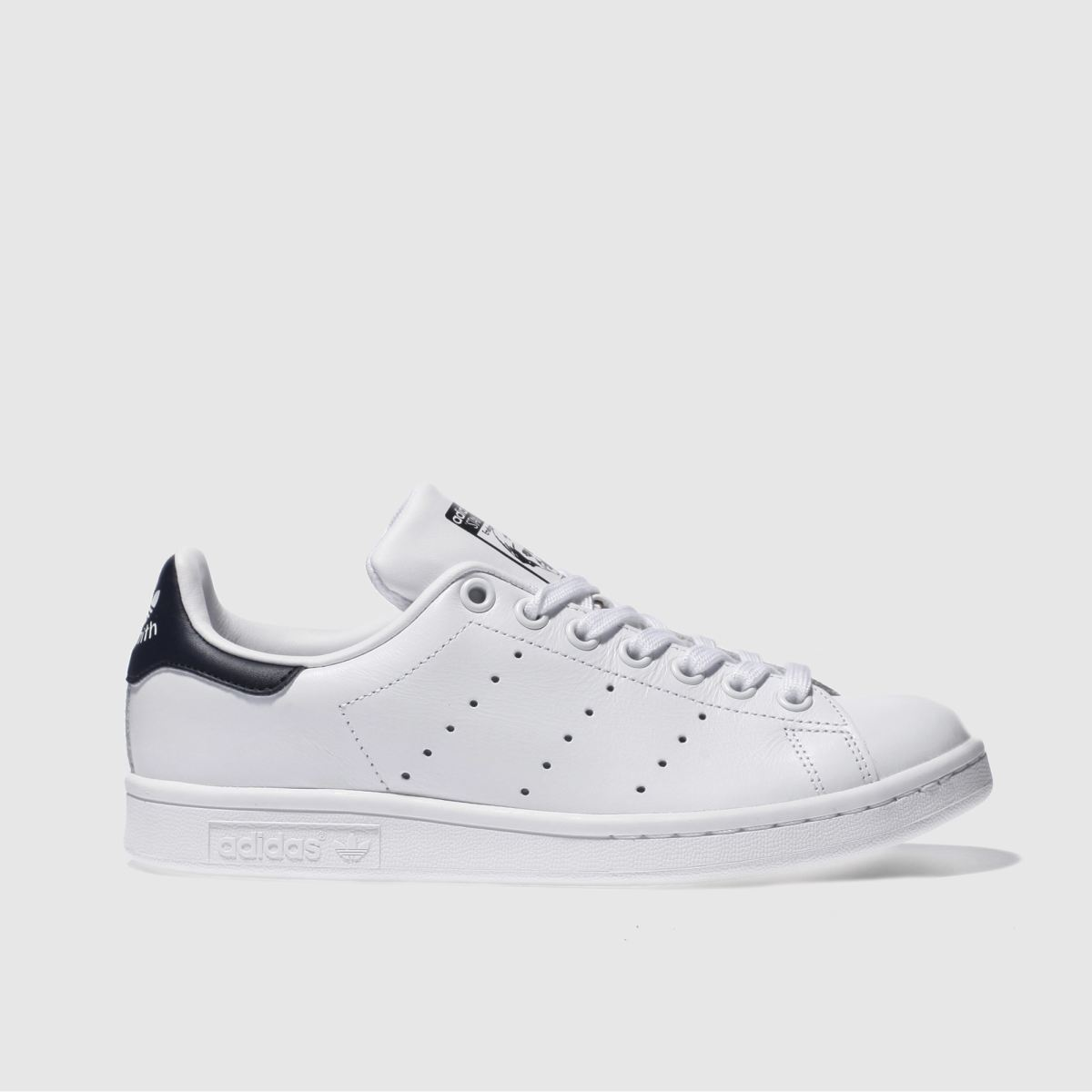 Womens Adidas Stan Smith Grey Polka Dot Trainers