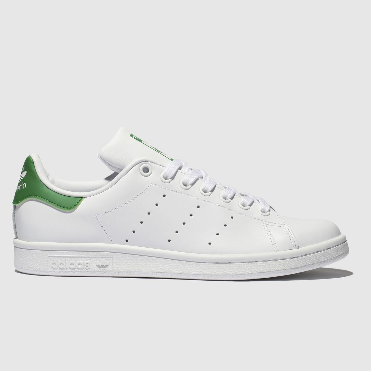 Mens Adidas Dark Green Stan Smith Trainers