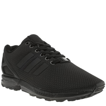 Adidas Black Adi Zx Flux Trainers