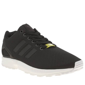 Adidas Black & White Zx Flux Womens Trainers
