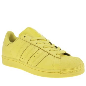 Adidas Yellow Superstar Supercolor Trainers