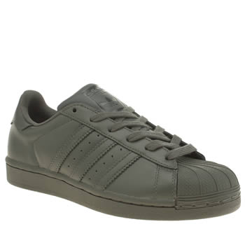 Adidas Khaki Superstar Supercolor Trainers