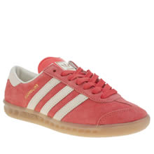 Adidas Red Hamburg Womens Trainers