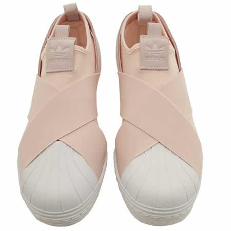 Adidas Superstar Slip On Light Pink