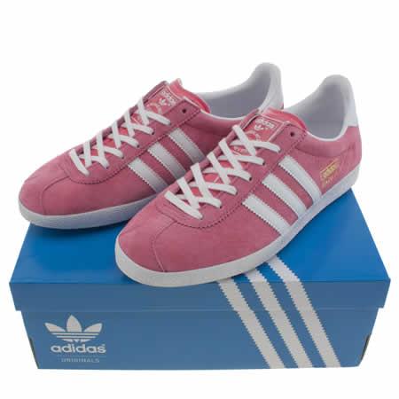 adidas gazelle womens pink