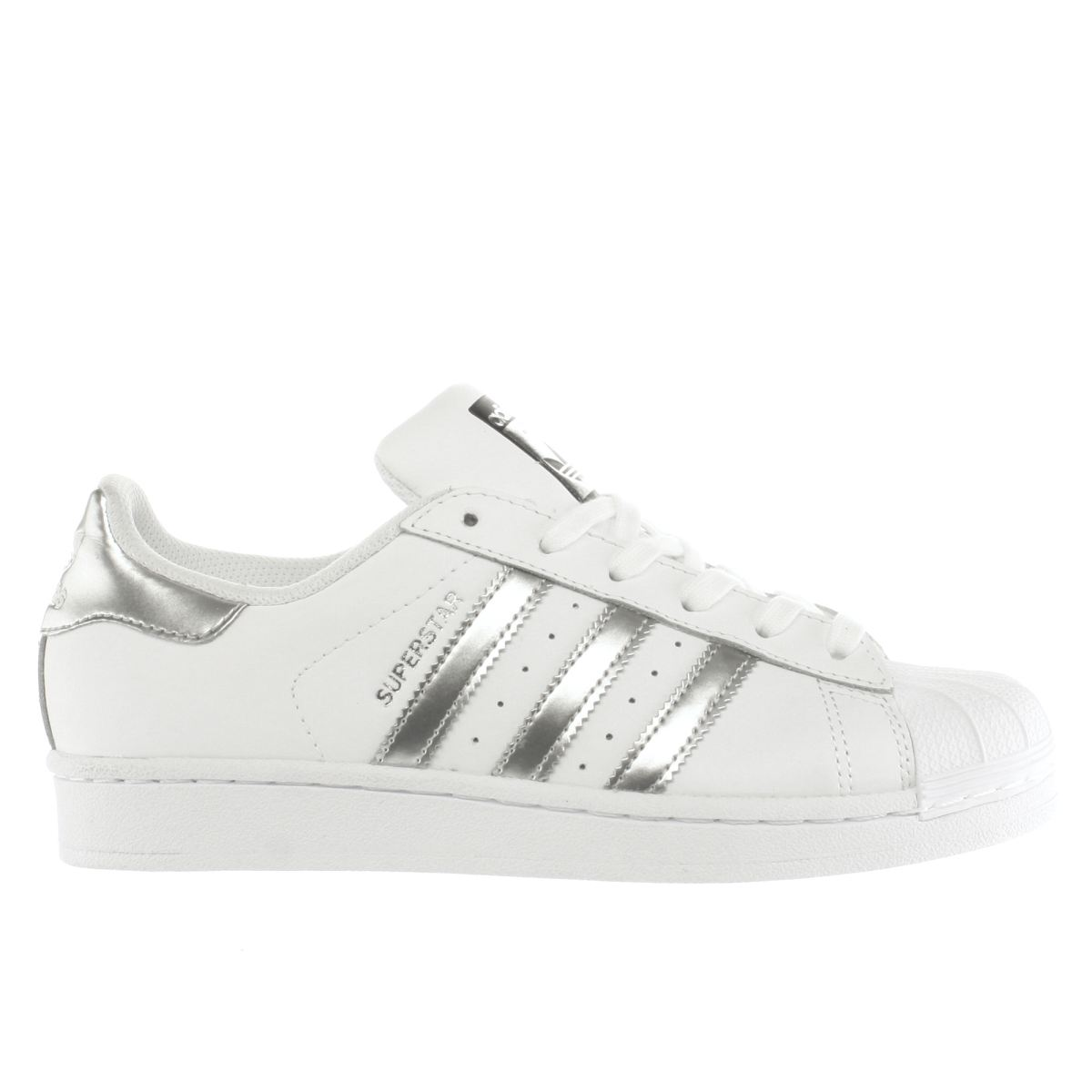 Adidas Superstar Women White Rose Gold BB1428 UK 4