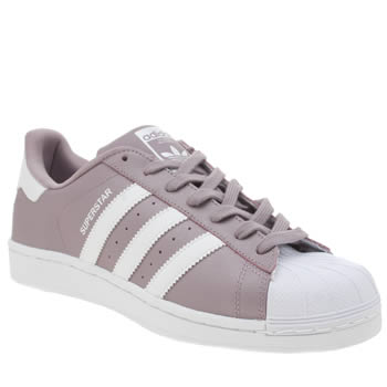 Adidas Lilac Superstar Trainers