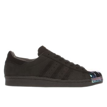 Adidas Black Superstar 80s Metal Toe Womens Trainers