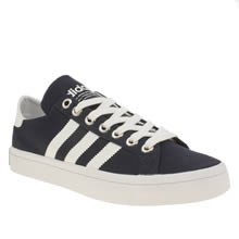 Adidas Navy & White Court Vantage Trainers