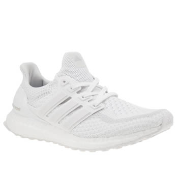 Adidas White Ultra Boost Trainers