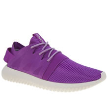 Adidas Purple Tubular Viral Womens Trainers