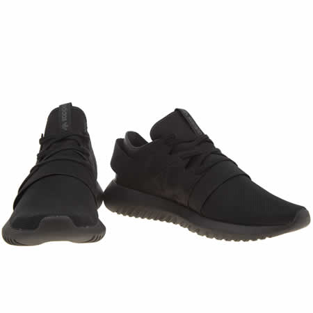 Adidas Tubular Viral Black On Black
