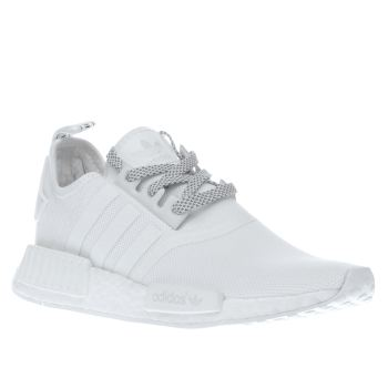 Adidas White Nmd Runner Womens Trainers