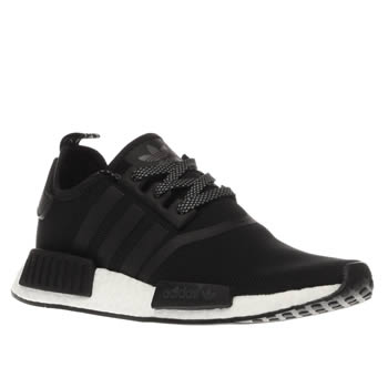 Adidas Black & White Nmd Runner Trainers