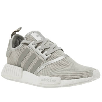 Adidas Silver Nmd Runner Trainers