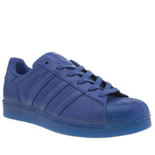 Adidas Blue Adicolor Superstar So Icy Womens Trainers