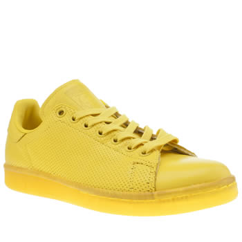 Adidas Yellow Adicolor Stan Smith So Icy Trainers