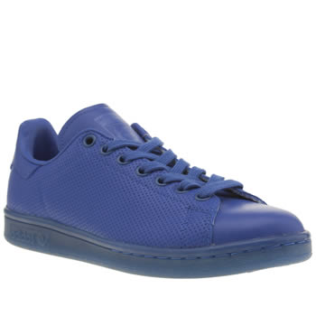 Womens Adidas Blue Adicolor Stan Smith So Icy Trainers