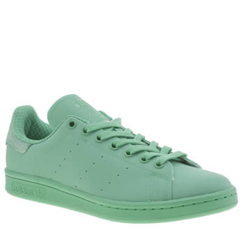 Adidas Light Green Adicolor Stan Smith So Bright Trainers