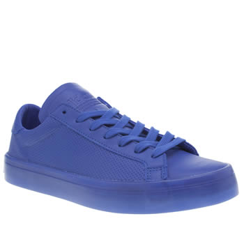 Adidas Blue Adicolor Court Vantage Icy Trainers